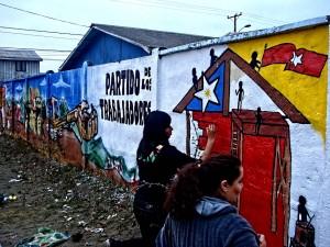 Mural en Boca Sur, Concepción