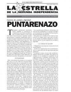 Estrella de la Segunda Independencia Nº20