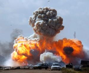 Ataque aéreo de EE.UU. sobre fuerzas libias