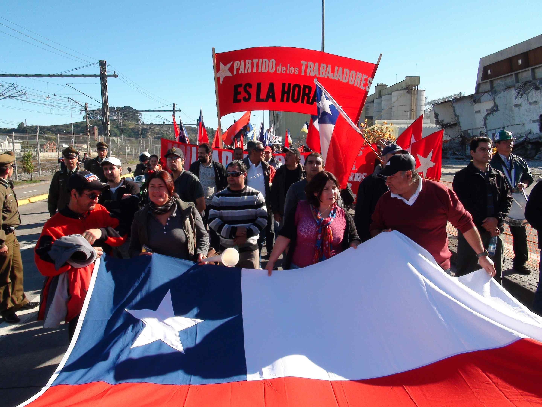 Manifestaciones Populares. Día Internacional de los Trabajadores