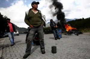 Manifestaciones en Aysén