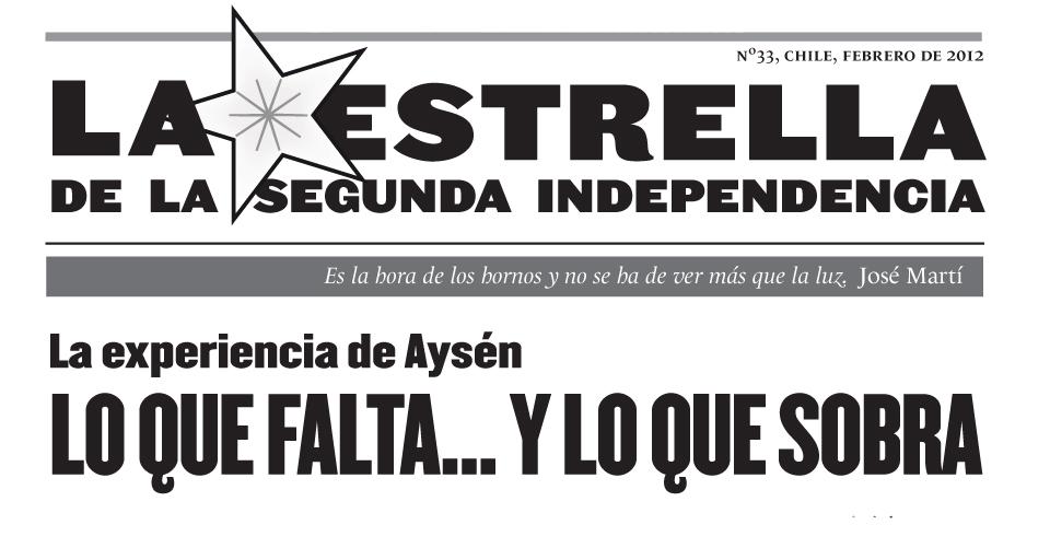 La Estrella de la Segunda Independencia Nº33