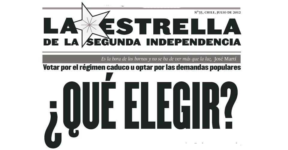 La Estrella de la Segunda Independencia Nº35
