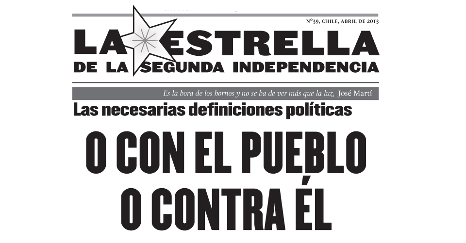 La Estrella de la Segunda Independencia Nº39