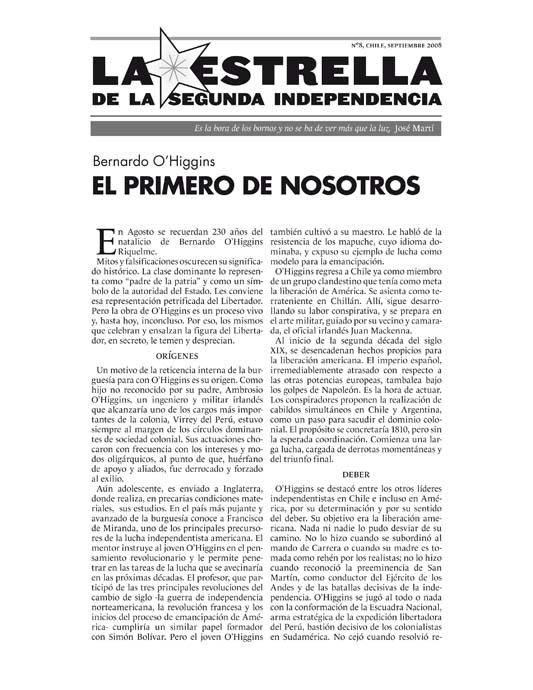 La Estrella de la Segunda Independencia Nº8