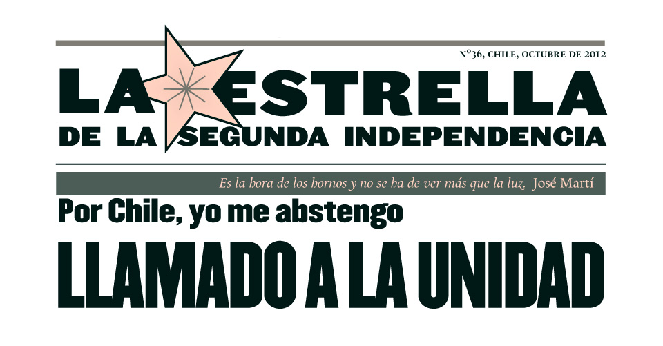 La Estrella de la Segunda Independencia Nº36